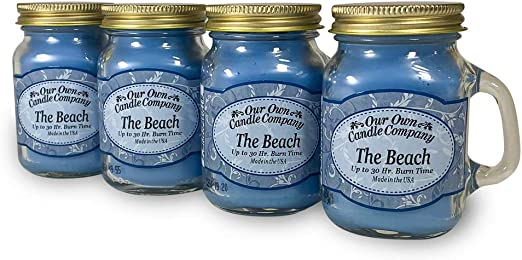 Our Own Candle Company Our Own Honeysuckle Chillaxin Variety Scented Mason Jar 3 Pack Lilac and Lavender Chamomile 13 oz