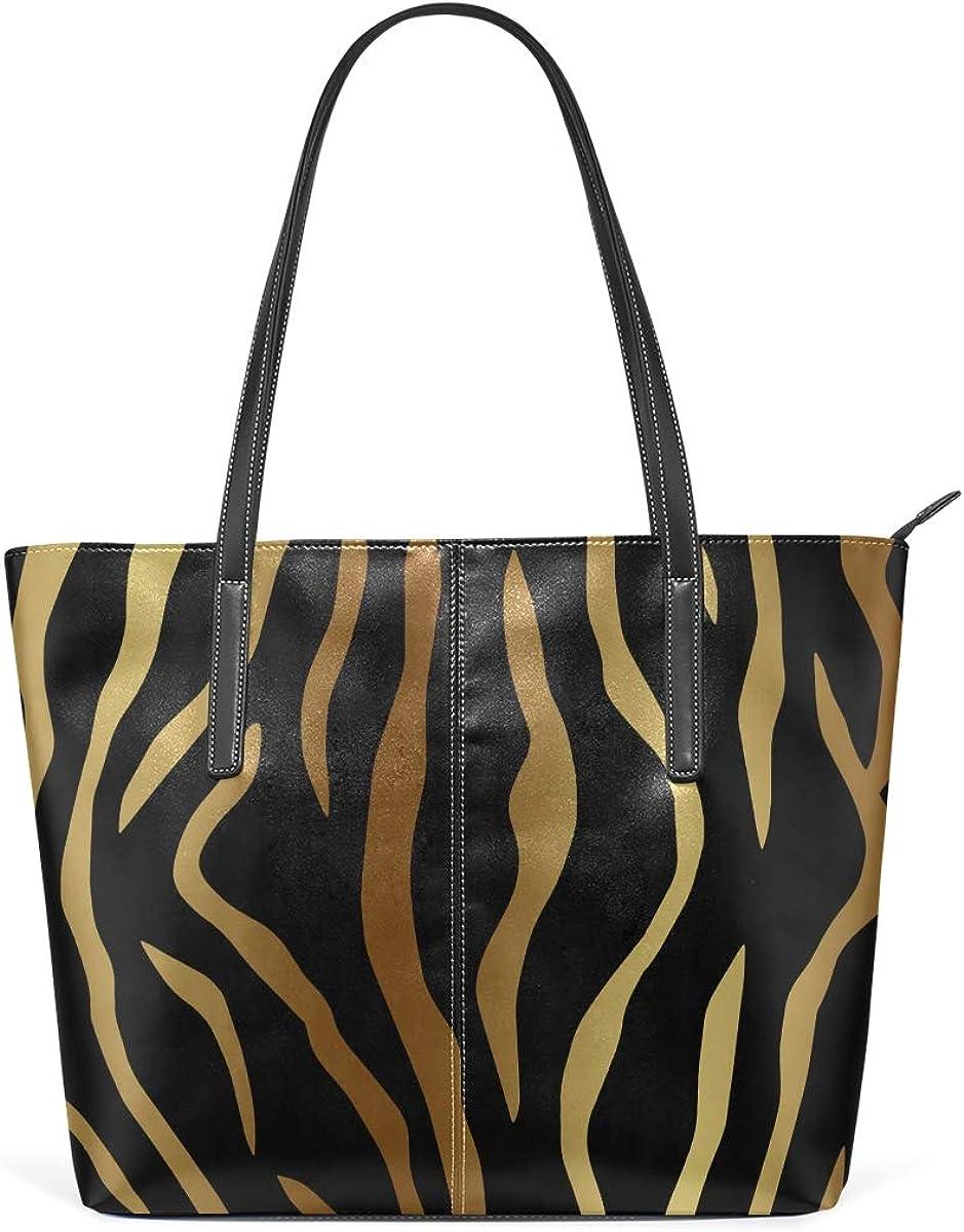 DEZIRO - Bolso de mano para mujer, diseño de piel de animal ...