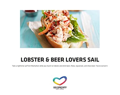 Amazon.com: Lobster & Beer Lovers Sailing in New York Experience ...