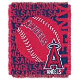 "Officially Licensed MLB Double Play Jacquard Throw Blanket, Soft & Cozy, Washable, Throws & Bedding, 46"" x 60"""