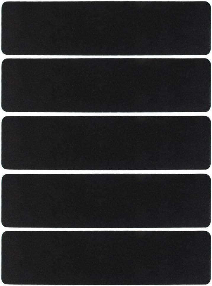 60/x 15/cm MA-on de Salle de Bain Escalier terrasse Autocollant Bandes de Grip Noir antid/érapant Ruban adh/ésif