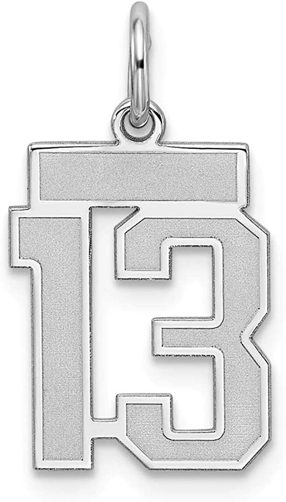925 Sterling Silver Antiqued Cross Polished Charm Pendant 27mm x 16mm