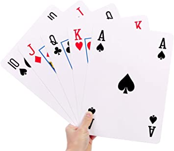 A4 Giant Jumbo Playing Cards Family Fun BBQ Games Party Deck Of 52