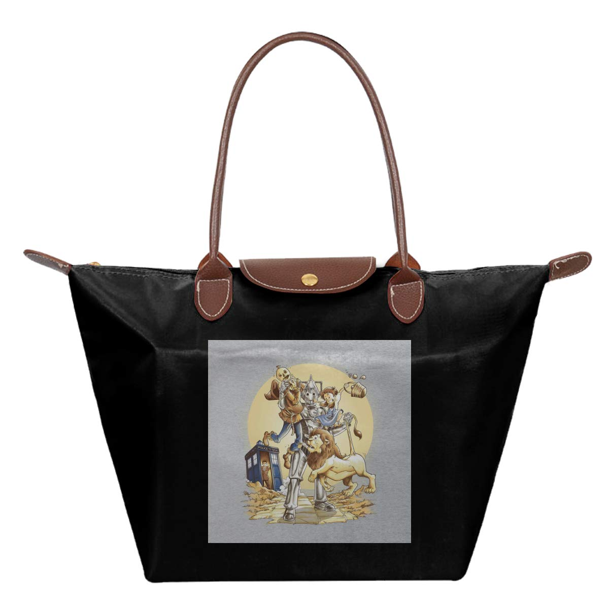 Doctor Who Wizard Planet Of Oz Waterproof Leather Folded Messenger Nylon Bag Travel Tote Hopping Folding School Handbags