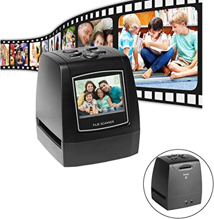 Escáner portátil de película negativa: con LCD de 2.4