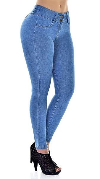 mejor selección 99c3b 870dc Jeans De Mujer Cintura Estilo Alta Cintura De Brasileño ...