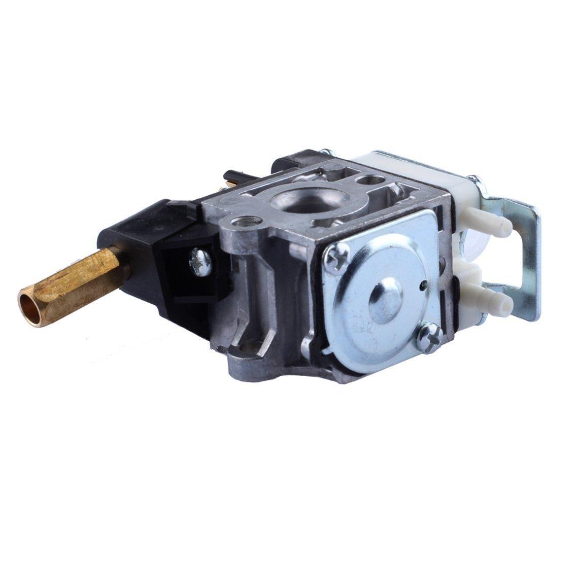 Podoy SRM210 Carburetor for ECHO Trimmer Parts PE200 Carb Fuel Line Kit  Tune Up Primer Bulb ...
