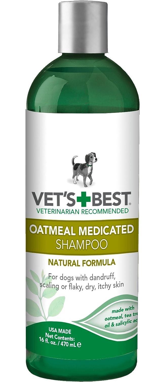 Vet's Best Oatmeal Medicated Dog Shampoo 16 oz