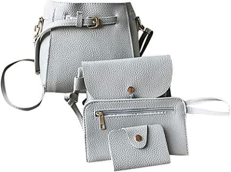 Ladies Bag Fashion Solid Color Handbag Wild Shoulder Crossbody Bag
