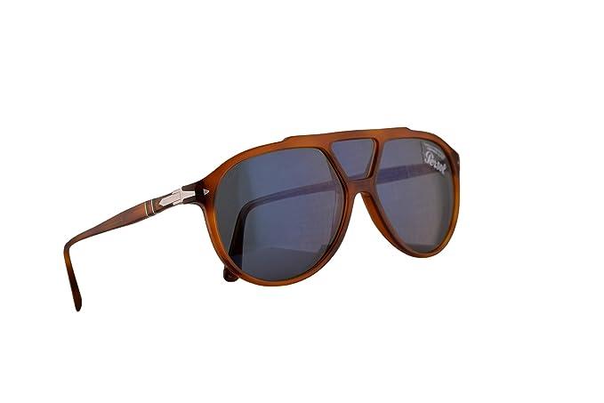 Persol 3217-S Gafas De Sol Terra Di Siena Con Lentes Azul ...