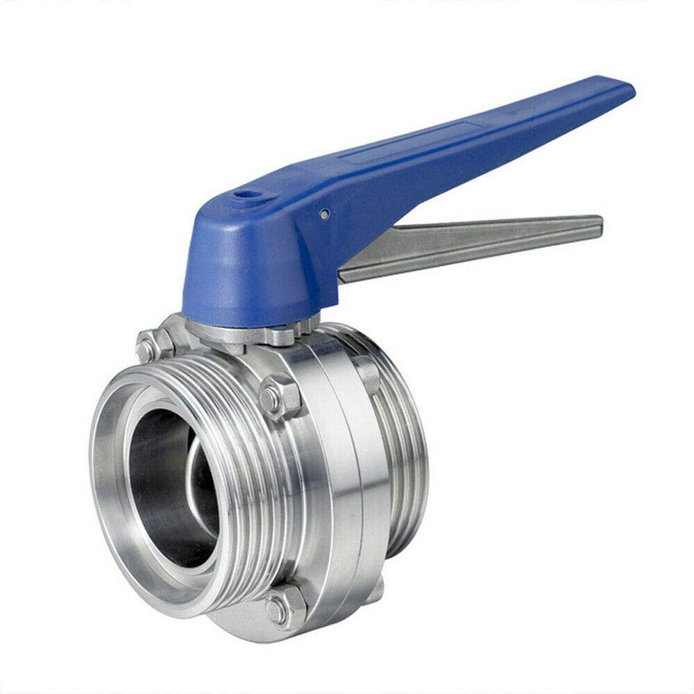 Tri Clamp Clover Stainless Steel 2 Sanitary Butterfly Valve HFS Trigger Style R