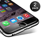 iPhone 6/ 6S Pellicola Protettiva Coolreall® 2 Pack in Vetro Temperato Screen Protector Film Ultra Resistente (0,25mm HD Alta trasparente)