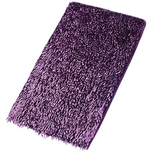 Fantastique travail doux Shaggy antidérapant Absorbant tapis de bain ...