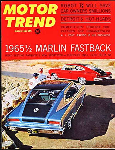 1965 AMC Marlin Fastback Hardtop by Rambler Press Photo and Release 0002