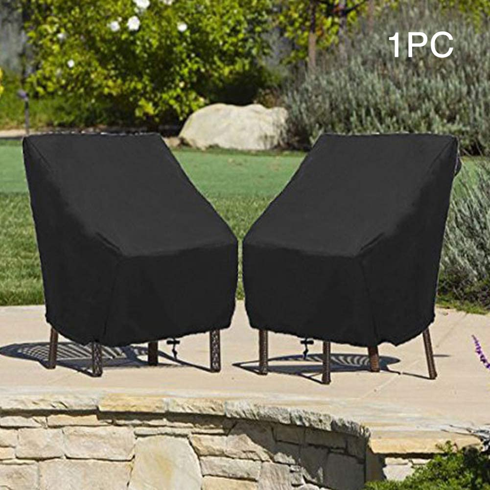 Heavy Duty Waterproof Garden Stacking Patio Chair Protection Cover Dustproof NEW