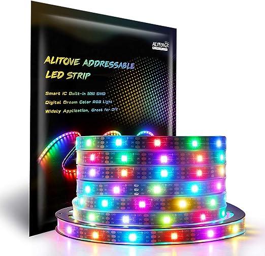1-5M WS2812B LED Strip WS2812B ECO RGB SMD 5050 DC5V Individually Addressable