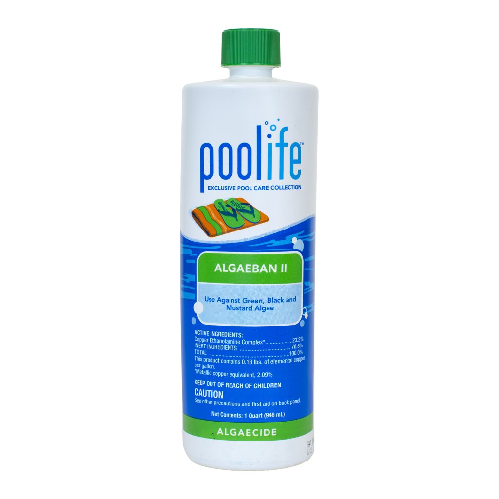 POOLIFE Algae Ban 2 (1 qt) by POOLIFE