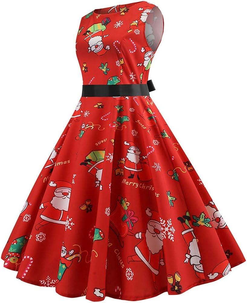 Beladla Vestidos Navidad Mujer Largo Mujers Vestido De Fiesta ...