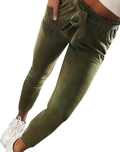 BaZhaHei, Mujeres Flacas Pantalones Vaqueros a Rayas a Rayas ...