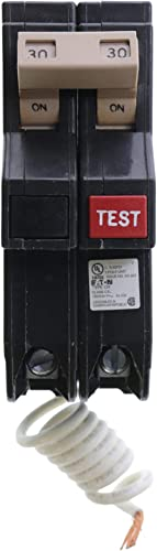Eaton Cutler-Hammer CH230GF Ground Fault GFCI Circuit Breaker, 2-Pole, 30A, 120 240V