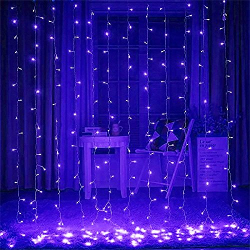 300 Blue Led Icicle Lights in US - 8