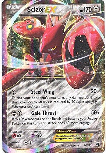 Pokemon Scizor EX 122 BREAKPoint Holo product image