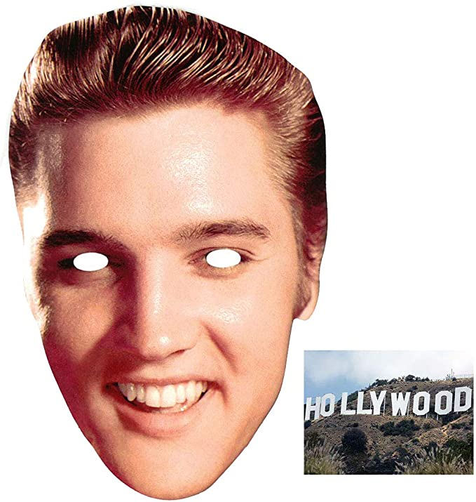 Fast Dispatch Elvis New Celebrity Card Face Mask