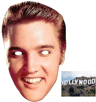 MASK: Pack* Elvis Presley Face (máscara/careta): Amazon.es: Juguetes y juegos