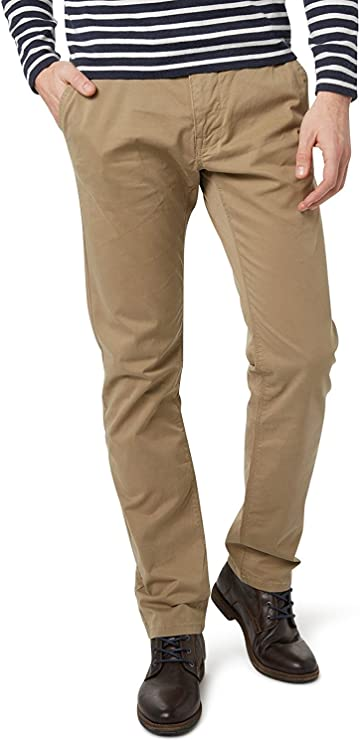 Tom Tailor Essential Chino Solid Pantalones para Hombre