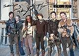 The Walking Dead Season 4 Cast Tv Print (11.7 X 8.3) Andrew Lincoln Norman Reedus Danai Gurira Steven Yeun Daryl Dixon