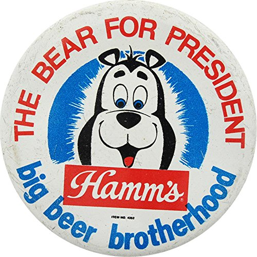 Hamms Bear - Vintage Hamms Beer Button