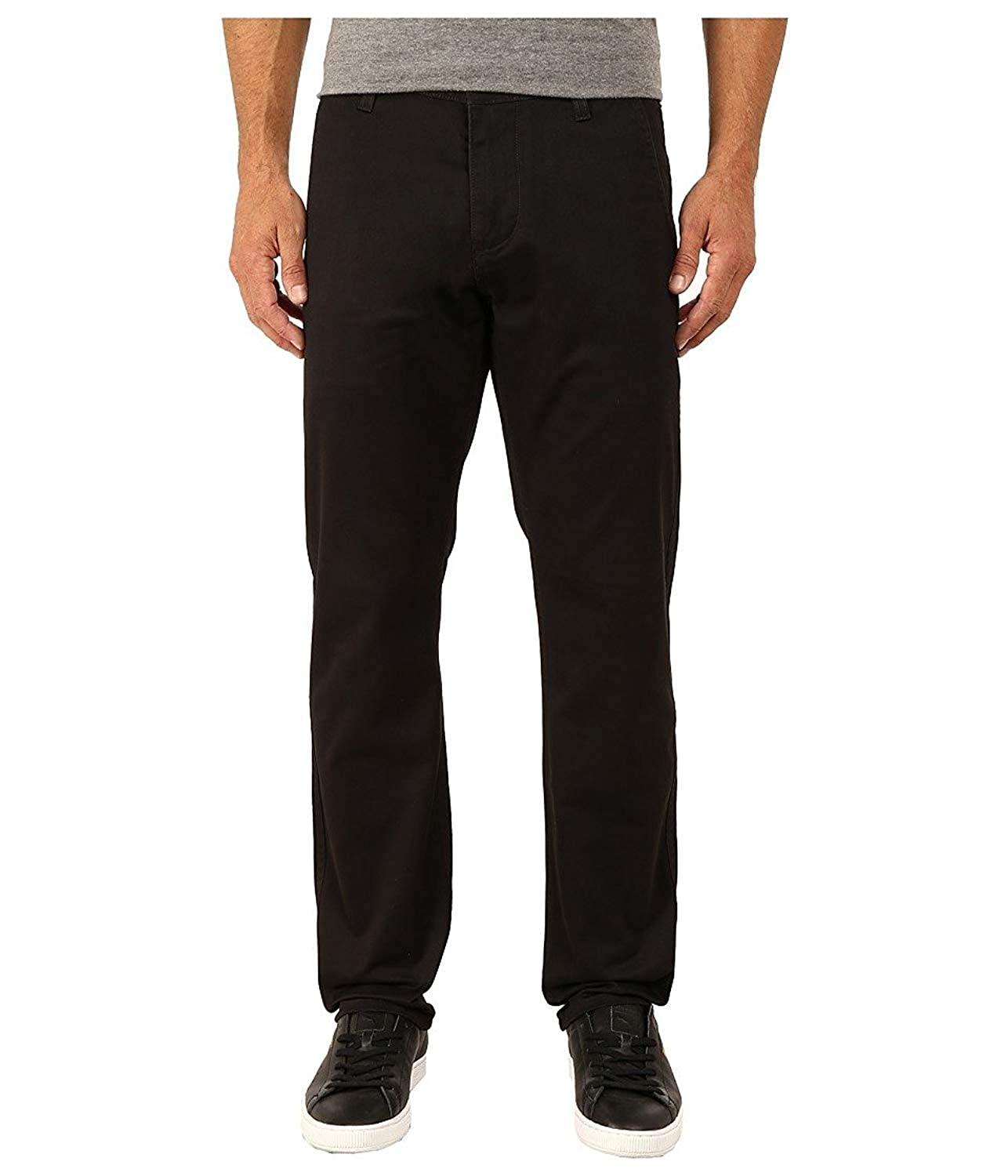 Dockers Men's Alpha Khaki Stretch Slim Tapered Fit Flat Front Pant Dockers Men' s Bottoms 44715