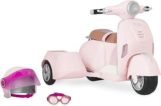 Amazon.com: Nuestra Generación Vespa con Side Car Luces ...
