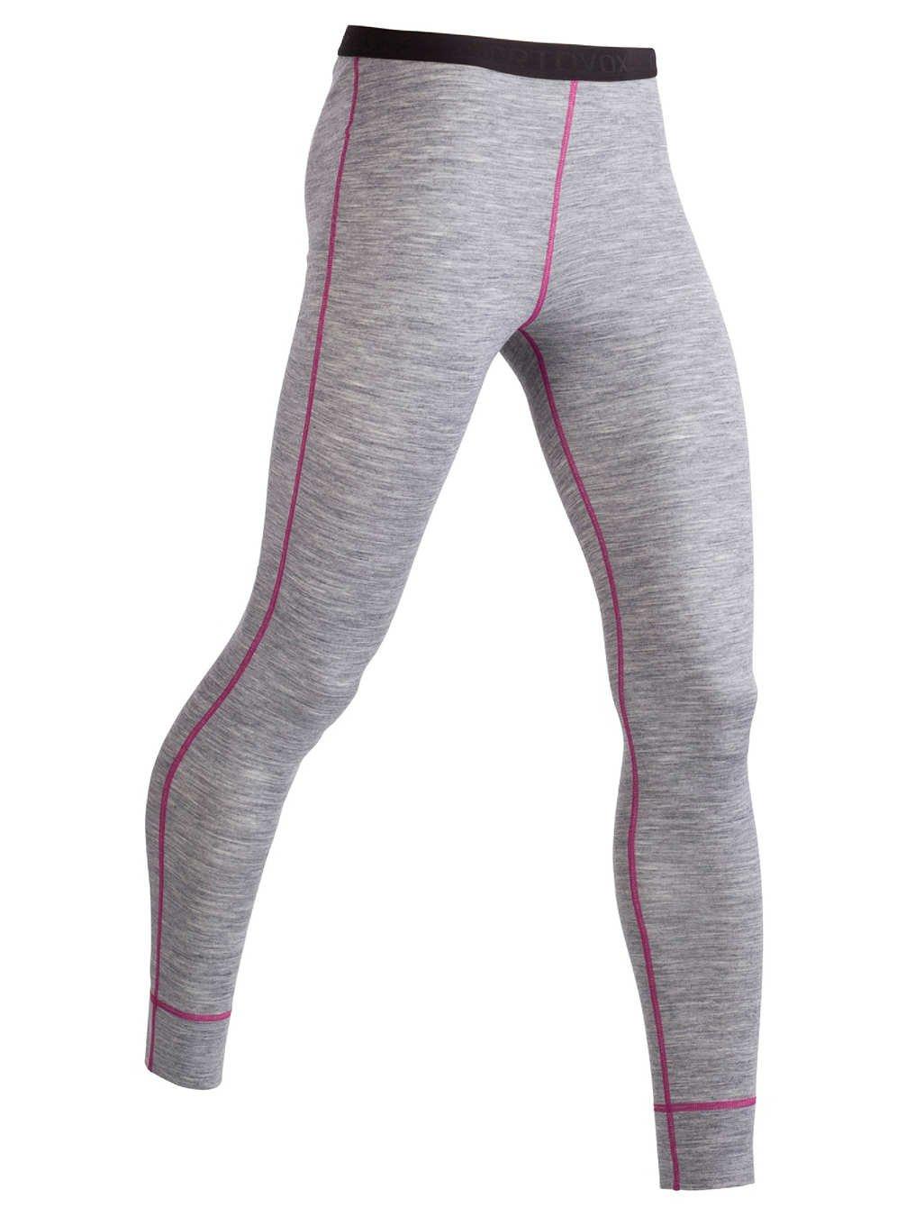 Ortovox Merino 185 Long Tech Pants grey blend / gray size M