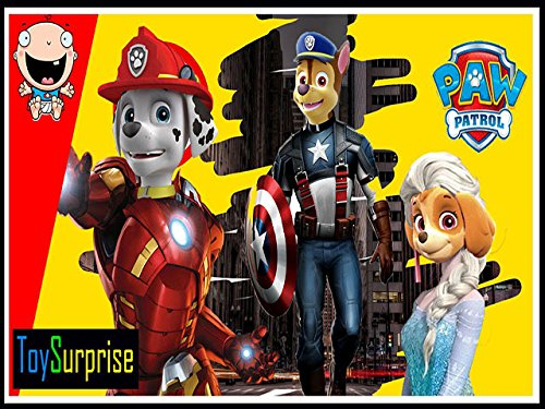 Paw Patrol Dress Up part 1 -