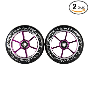 Amazon.com: GRAVITI - Par de ruedas para patinete (4.331 in ...