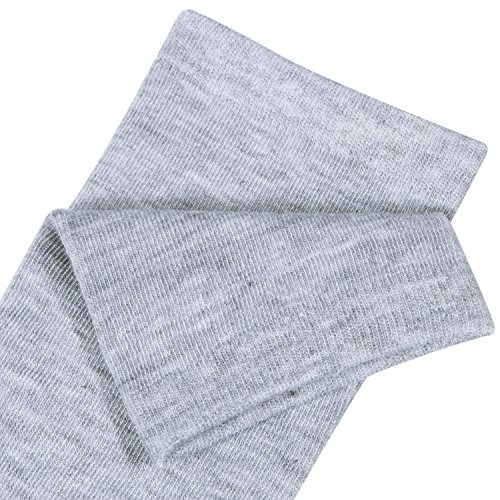 Chalier 3 Pairs Womens Long Socks Over Knee Stockings, White, Gray, Black, OS by Chalier (Image #7)'