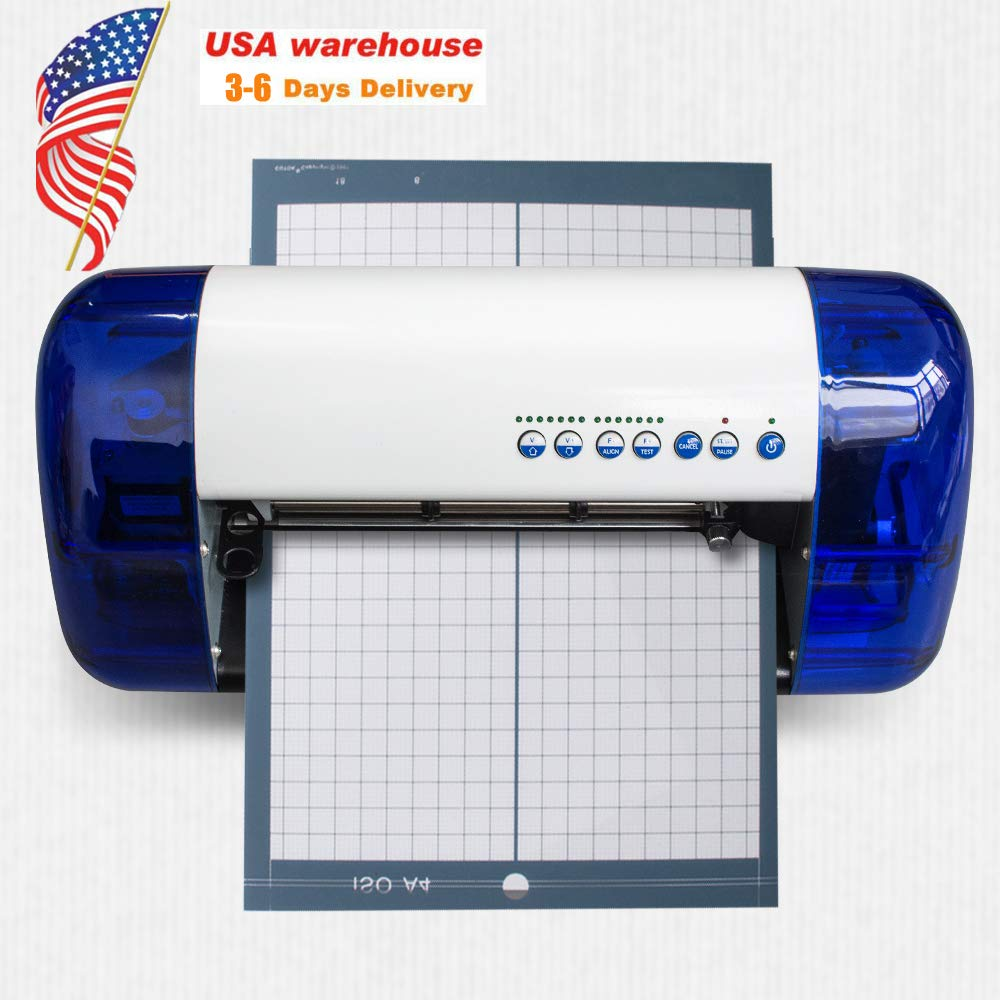 Denshine A4 Plotter Cutting Machine Carving Machine Sticker Vinyl Cutter - US Shipping, 3-6D Delivery