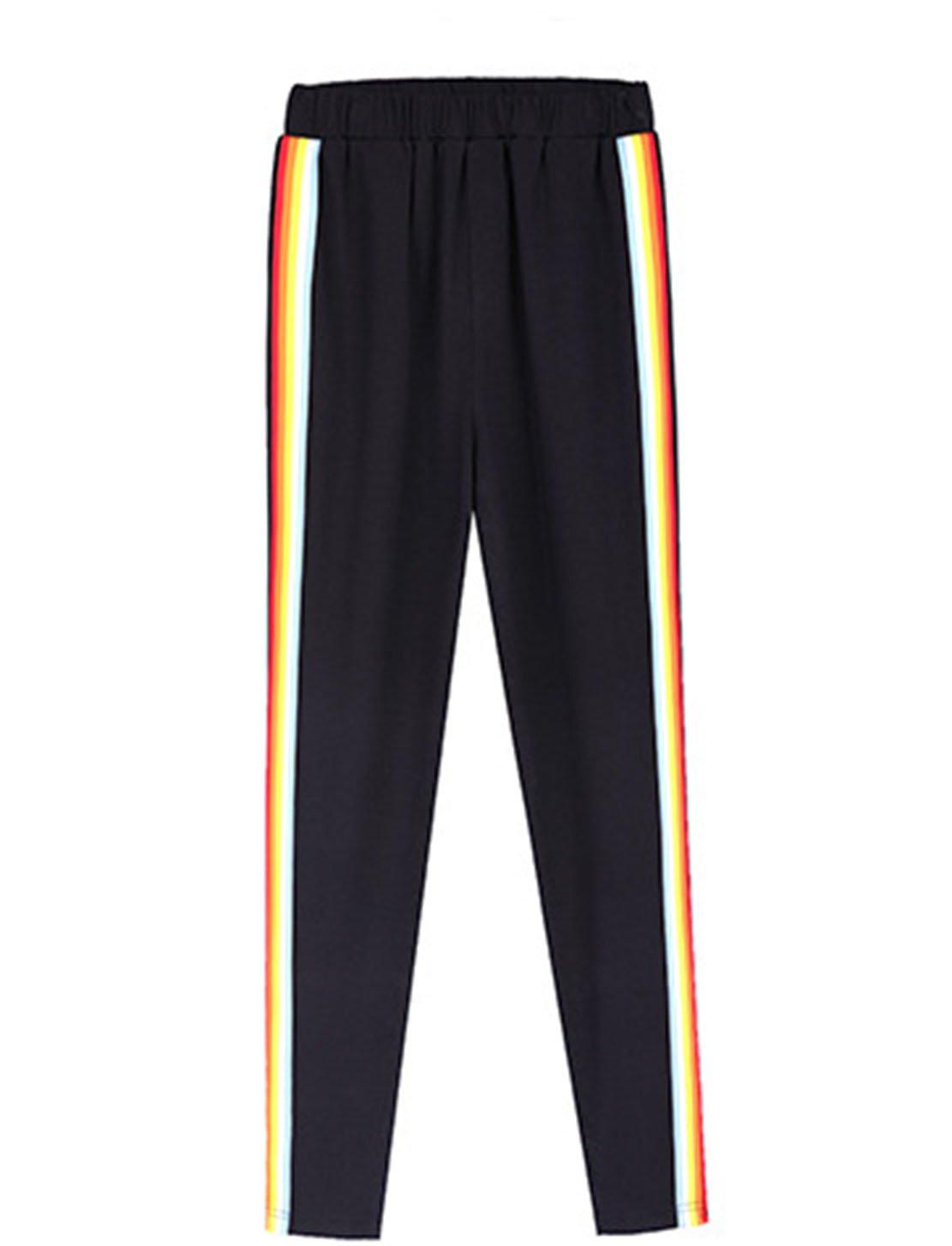 GBT Bande De Couleur Couture Des Pantalons De Sport