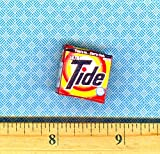 Dollhouse & Miniature Dolls' Houses Miniature 1:12 and 1:24 Scale Size Modern Laundry Washing Detergent Box Welcome to Minimum World