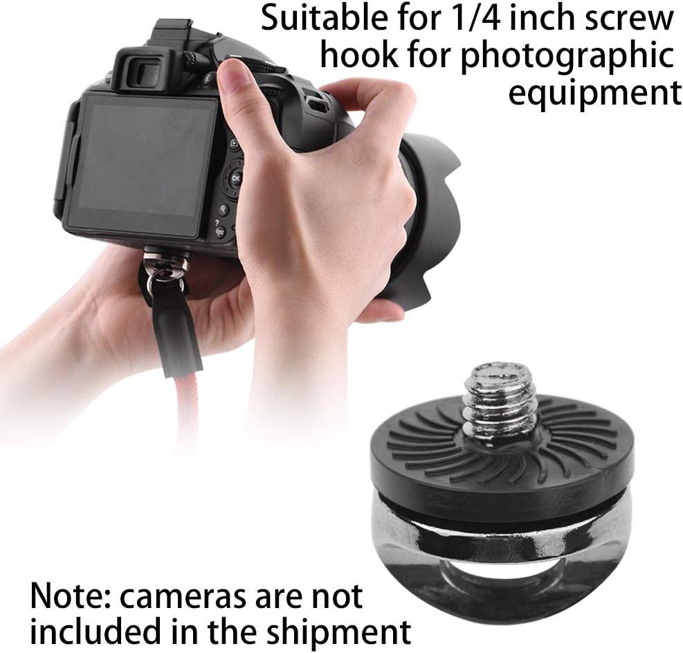 hudiemm0B Camera Screw Adapter 1//4inch Screw Shoulder Sling Neck Strap Connecting Adapter for SLR DSLR Camera