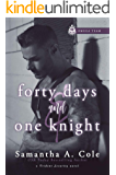 Forty Days and One Knight: Trident Security Omega Team Book 2