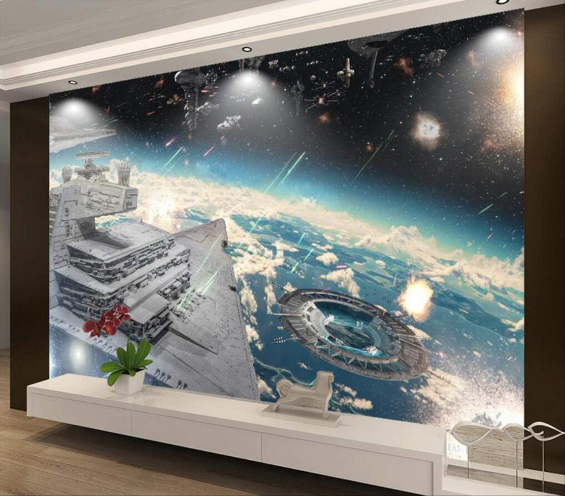 Amazon カスタム壁紙スターウォーズ宇宙船の背景の壁 壁紙