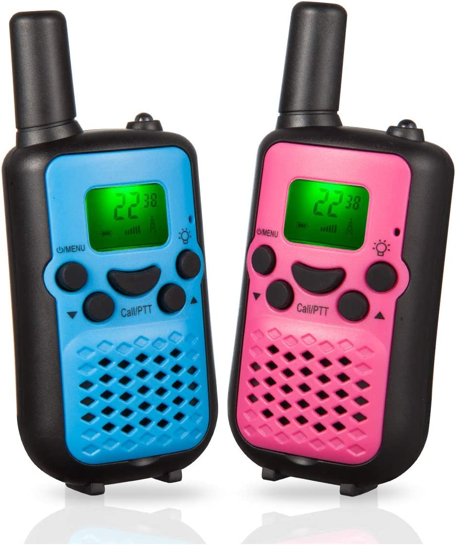 2020 Upgraded Walkie Talkies for Kids 5 Miles Kids Walkie Talkies for Boys Girls Toy Walkie Talkies for Little Hands for Kids Set of 2
