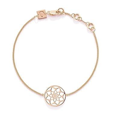 Oak Original Dreamcatcher Silver With Rose Gold Bracelet Of Length Interesting Dream Catcher Gold Bracelet