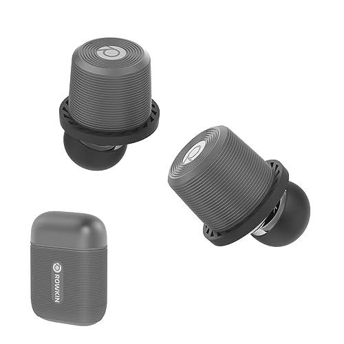 Rowkin Ascent Micro True Wireless Earbuds Headphones: 17+ Hours Bluetooth 5 Smallest Earphones &