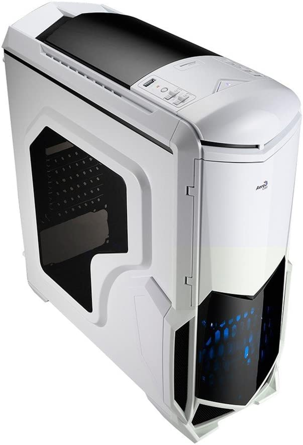 Aerocool Battlehawk Pc Gaming Gehäuse Weiß Computer Zubehör