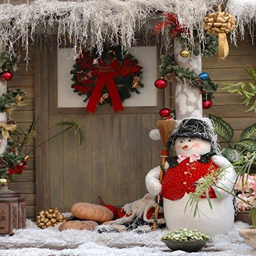 Yeele 7x7フィート クリスマス 背景 冬 雪だるま 背景 写真撮影用 メリークリスマス ハッピーニューイヤー パーティー デコレーション バナー 子供 子供 大人 写真ブース ビデオ 撮影 ビニール スタジオ 小道具   B07JDWVNRX