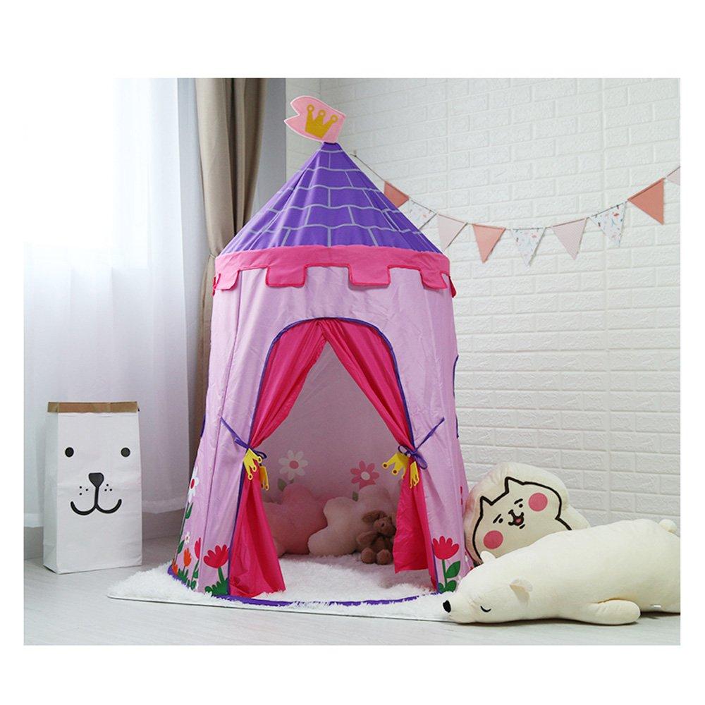 QAR Kinder Zelt Spiel Haus Innen Prinzessin Mädchen Junge Spielzeug Haus Hause Baby Zelt Jurte Schloss Zelt