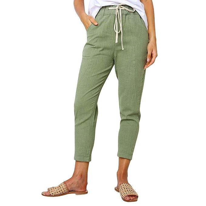 suche nach dem besten am besten auswählen authentisch ASHOP Hosen Damen, Frauen 7/8 Hosen Elegant Elastische ...